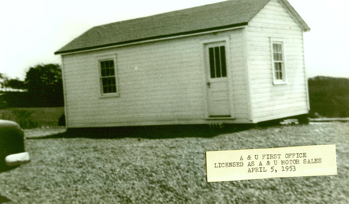 A&U's first office on Route 460 in Blacksburg, VA