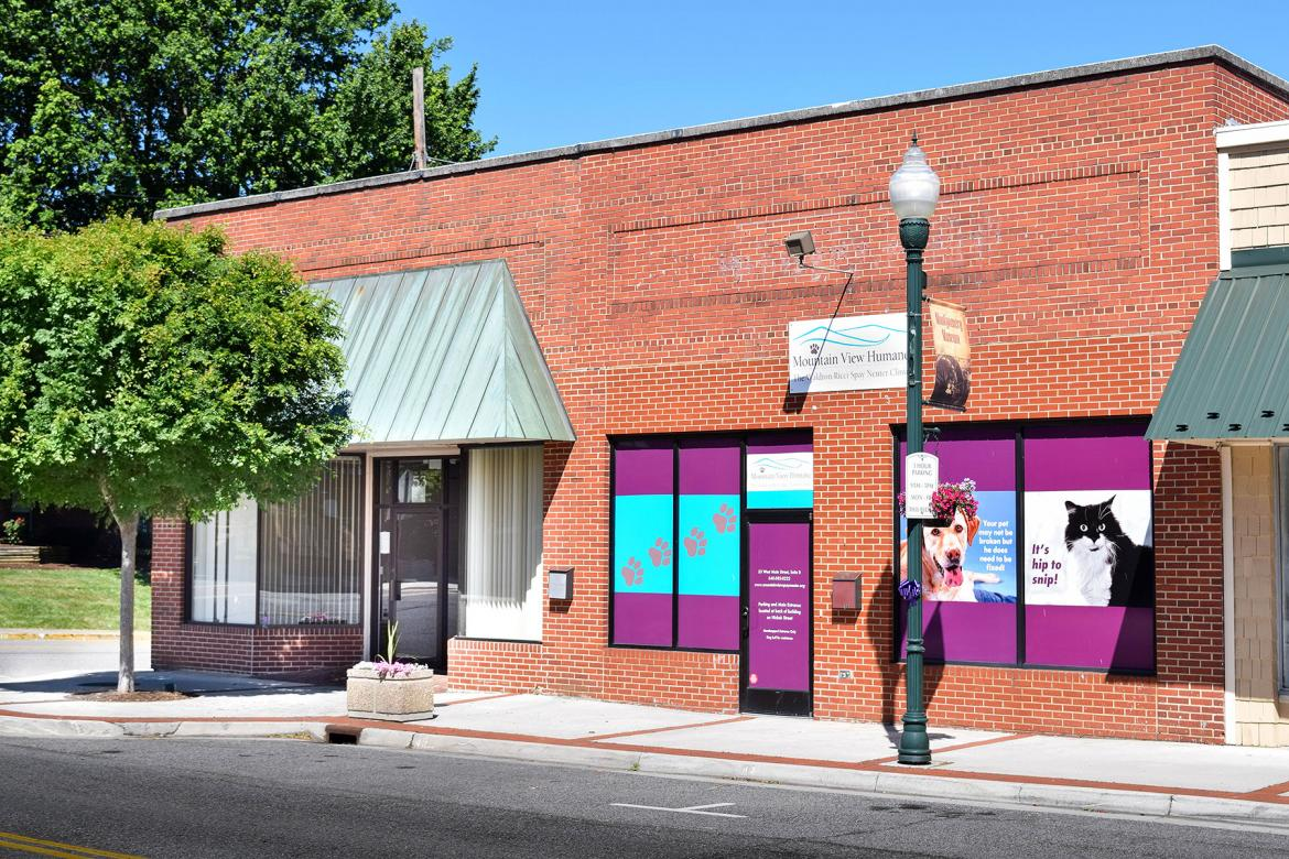 One of the largest onsite, off-street parking facilities in downtown Christiansburg.